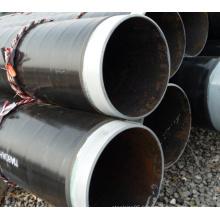 Prix d'usine Q345 ERW 3PE tuyau revêtu pour gaz naturel