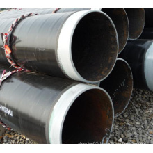 Factory Price Q345 ERW 3PE coated pipe for natural gas