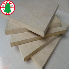 China New Product for Laminated MDF 1220x2440 Plain MDF E1 Formaldehyde Emission fibireboard export to South Africa Importers