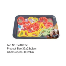 Plastic Cookie cutter pan sets