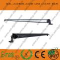 80PCS*3W 42inch LED Light Bar, Spot/Flood/Combo LED Light Bar for Trucks