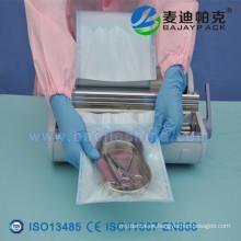 Papel de grado Meidcal de carretes de esterilización planos y rollos de esterilización