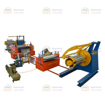 Cutting speed stepless speed regulation slitting line machine for steel coil
