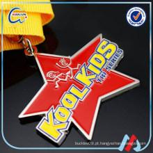 Custom barato medalhas de esportes para crianças