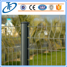Pvc dilapisi Bending Welded Wire Mesh Fencing