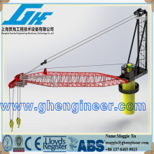 30t platform port Marine deck vessel ship Crane