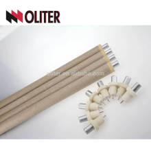 pour thermocouple jetable de type hotsale de fonderie avec capuchon de scorie en aluminium et câble 603