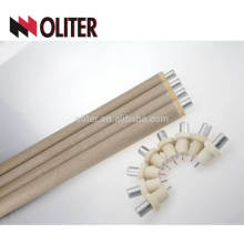 for foundry hotsale type s disposable thermocouple with aluminium slag cap ptrh wire and 604 triangle connector