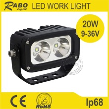 1800Lumen truck work lamp 20w led work light cob
