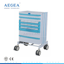 AG-WNT001 ABS material hospital drug nursing medical manual patient trolley