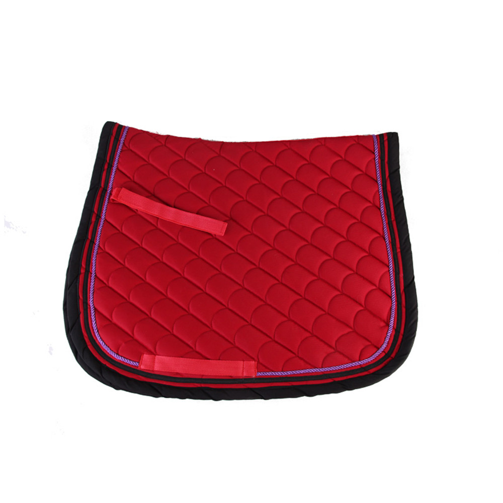 fish patter horse saddle pad
