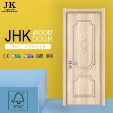 JHK-Barato Hdf Pvc Door Bathroom Door