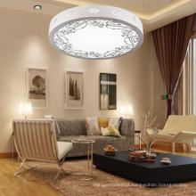 A maioria de escurecimento de madeira redondo popular da Tri-lâmpada da lâmpada do teto do diodo emissor de luz