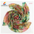 Elegant Women Ladies Silk Square Scarf Scarves Bandanas Satin Head Wrap Shawl