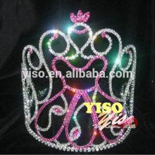 decorated classic design crystal wholesale costume tiaras