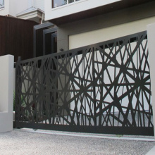 Steel Laser Cut Gate dan Pagar