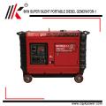 Generador generadores insonoros silenciosos estupendos 7.5kVA que generan el precio del sistema para Kenia