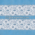 Tricot Lace in White Color