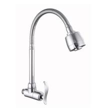 360 degree swing sprayer flexible spout kitchen faucet