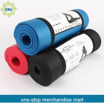 Eco-friendly folding yoga mat