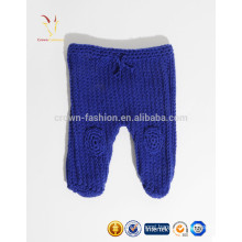 Winter merino wool knit pants for baby