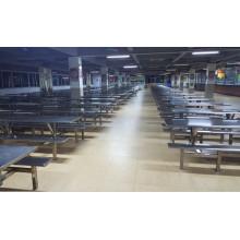 Fabrik Kantine Esstisch und Stuhl Set Möbel (FOH-RTC13)