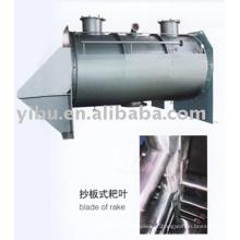 Vacuum Harrow Dryer usado em matérias-primas em pó