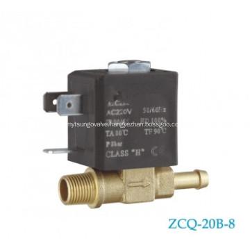 2/2 way brass solenoid valve