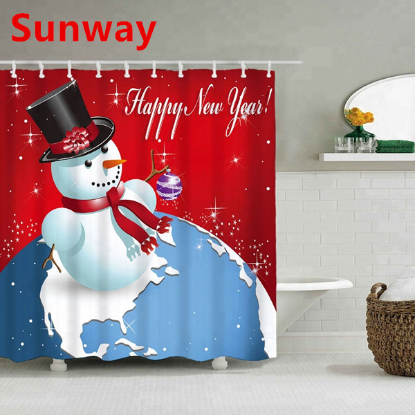 Xmas Shower Curtain