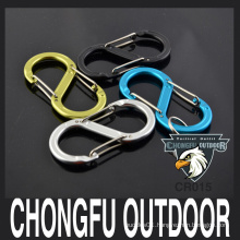 S shape Double Gates Carabiner colored