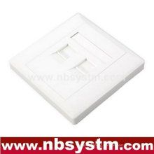2 port Face Plate , size:86x86mm