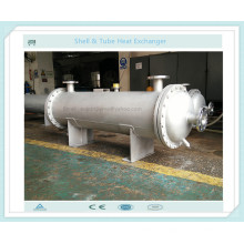 Shell and Tube Type Heat Exchanger as Oil /Chemical Solution Cooler