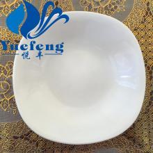 Assiette à soupe verrerie opale résistant à la chaleur