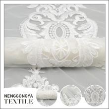 Новый дизайн профессиональный мода лента вышивка индийский свадебный ткани