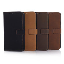 Leather Wallet Archaize Style Case for Samsung Galaxy S6