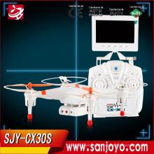 AmazingRC Quadcopter Helicóptero cámara drone con capacidad de volteo total y capaz tiene luces para volar por la noche CHEERSON CX30S