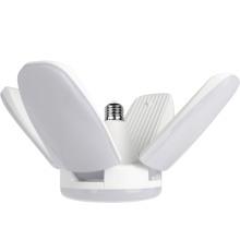 60W deformable fan panel led light  beam angle adjustable retrofit energy saving led bulb light