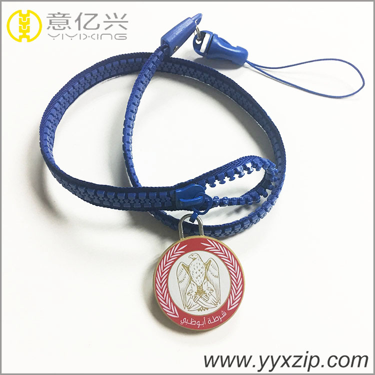 phone strip zip lanyard