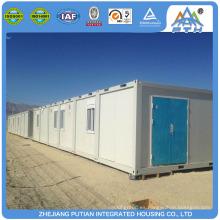 ISO CE China certificado temporario prefabricado campamento contenedor casa
