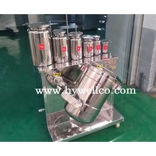 Plastic Powder Three Dimensional Motion Mixer