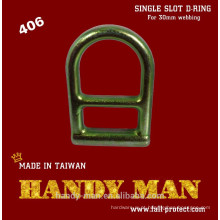 Anel D do anel de segurança em aço galvanizado 406
