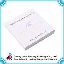 Гуандун дешевые липкий блокнот с вашим собственным логотипом