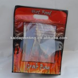 hot roast chicken plastic bags with zipper ,anti-fogging bag