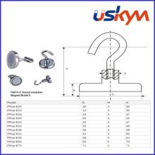 China Permanet Neodymium Magnetic Hook (H-009)