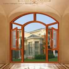 Eleganter heißer Verkauf entwirft Aluminiumflügelfenster (FT-W135)