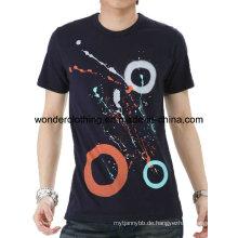 Herstellung in China Custom Cotton Fashion Design Druck Mann T-Shirt