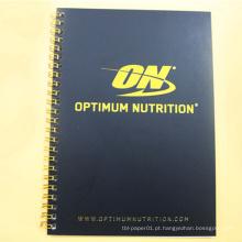 Importação de papel branco cartão promocional caderno personalizado notebook papel em branco