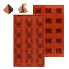 silicone DIY molds Chocolate Cake Molds Pyramid