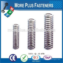 Made IN TAIWAN high qualiy stainless steel small springs