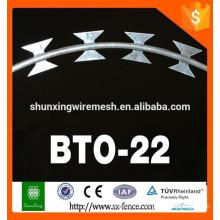 China Razor Barbed Wire/Hot dipped galvanized razor barbed wire for sale!!!